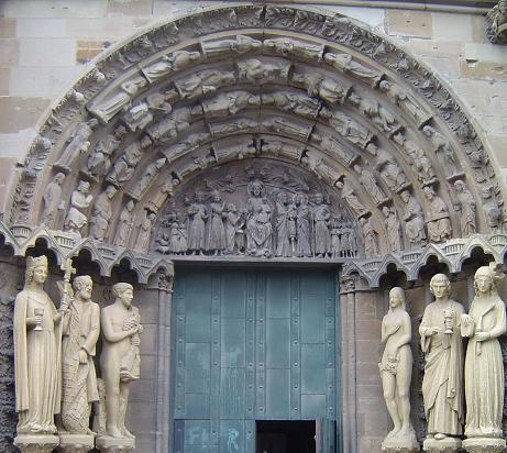 Doorway on the old Cathedral