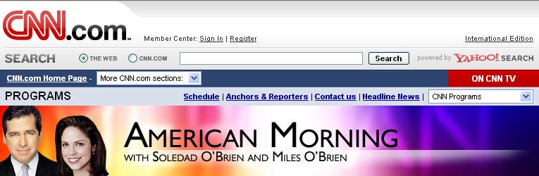 American Morning header