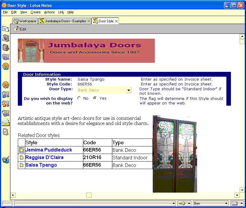 CoexEdit screenshot: NotesDocRead1