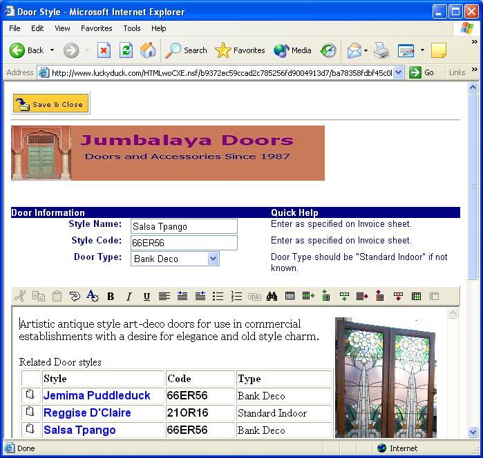 CoexEdit screenshot: WebDocEdit3