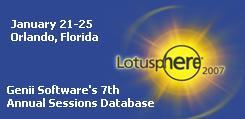 Lotusphere 2007